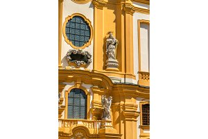 Saint Peter and Paul Church at Melk Abbey in Austria