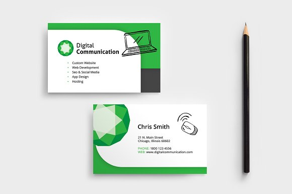 Web designer business card template business card templates web designer business card template business cards friedricerecipe Choice Image