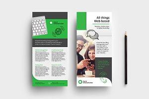 Web Designer DL Card Templates