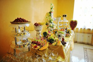 wedding decor table