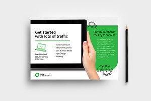 Web Designer Flyer Template