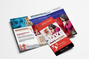 Church Trifold Brochure Template