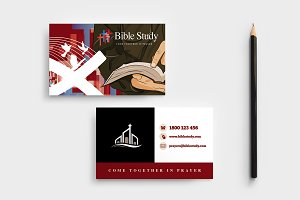 Church Business Card Template