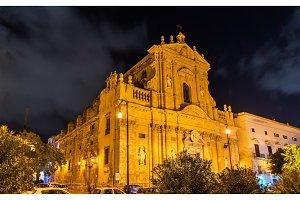 Santa Teresa alla Kalsa, a baroque church in Palermo, Italy