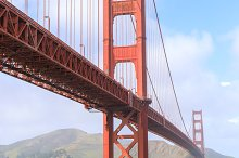 Golden Gate Bridge from Fort Point by Yuval Helfman in Transportation