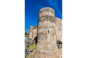 Castello Ursino, a medieval castle in Catania, Sicily, Southern Italy