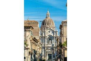 Metropolitan Cathedral of Saint Agatha in Catania, Italy