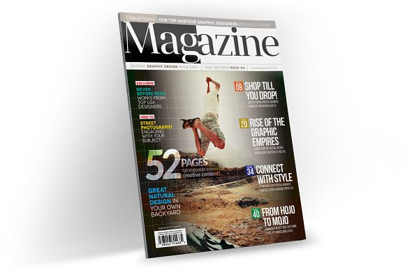 Magazine Template InDesign 04