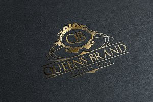 Queens Brand Logo Template