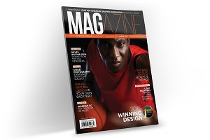 Magazine Template InDesign 05