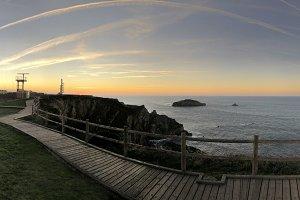 Cape Peñas, Asturias.