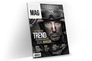Magazine Template InDesign 06