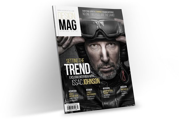 Magazine Template InDesign 06