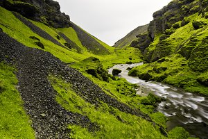 Kverna River Gorge
