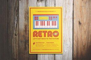 Retro Festival Flyer
