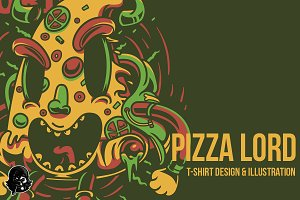 Lord Pizza Illustration