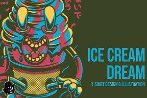 Ice Cream Dream Illustration