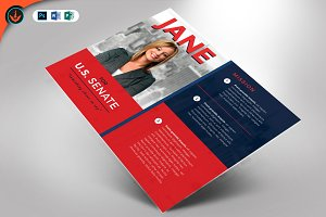 Political Flyer Template 3