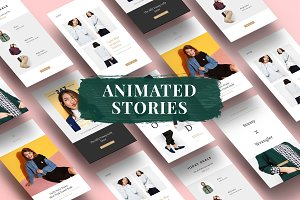 Animated Fashion Instagram Stories