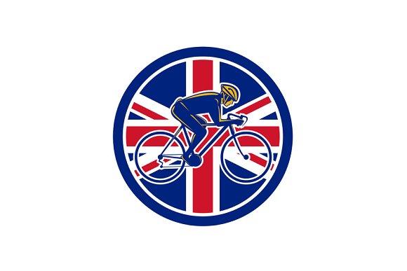 British Cyclist Cycling Union Jack F