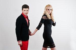 young stylish beautiful couple