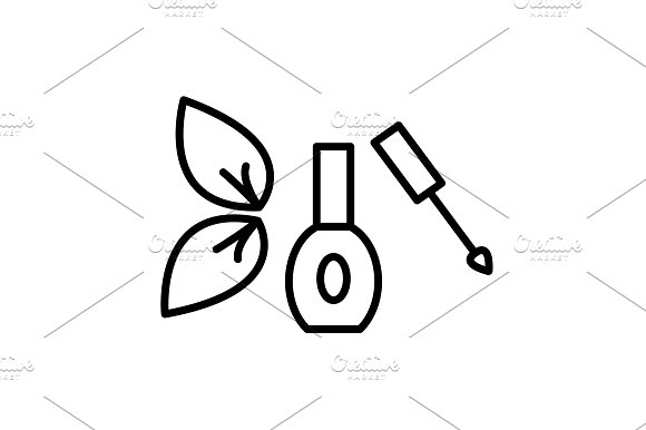 Nail Polish Isolated Vector