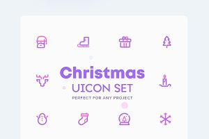 Christmas - Winter Icons Set