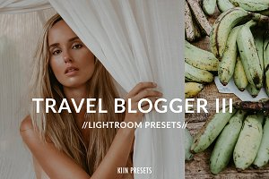 TRAVEL BLOGGER FADED GREENS PRESETS
