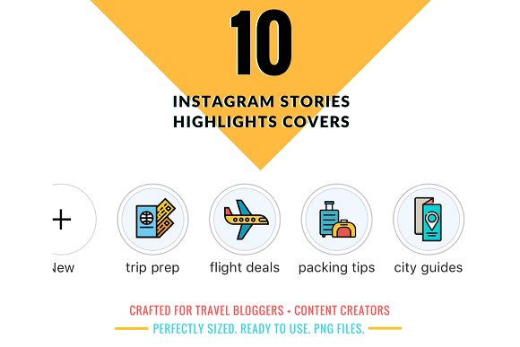 10 Instagram Highlights Covers
