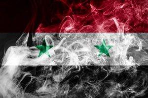 National flag of Syria