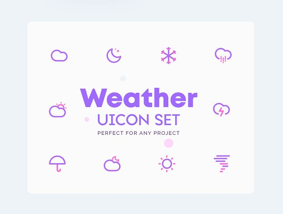 Weather - Climate Icons Set