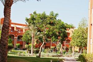 garden of resort