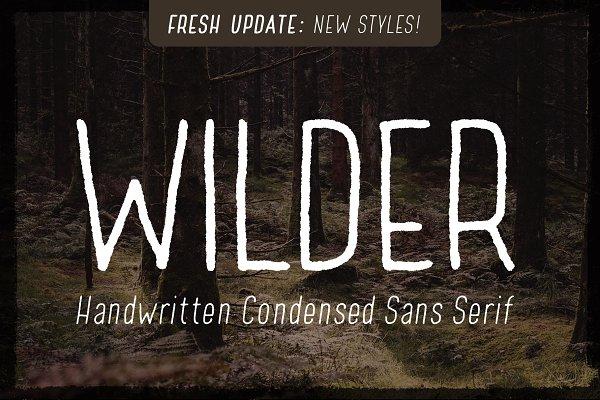 handwritten sans serif
