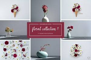Floral Collection 1 | Styled Photos