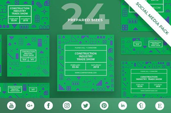Social Media Pack Industry Show
