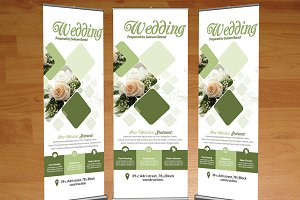 Wedding Services Roll Up Banners