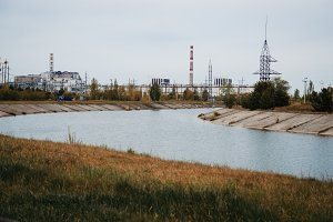 Chernobyl disaster area