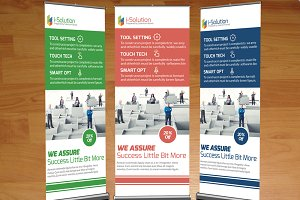 Business & Corporate Roll Up Banner
