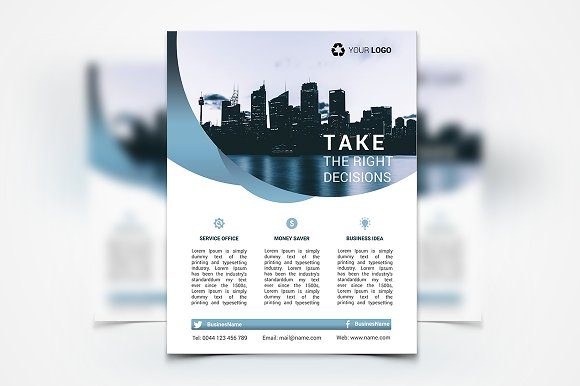 Business Flyer #127