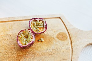 passion fruit or maracuya