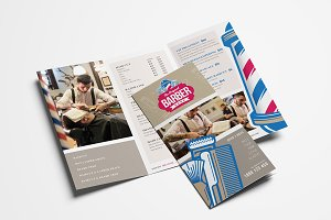 Barber's Shop Trifold Brochure