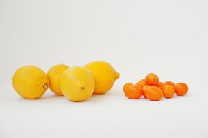 Different type of citrus
