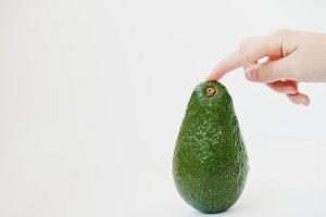 fruit avocado or alligator pear