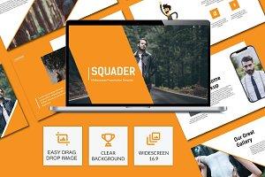 Squader Creative Google Slide