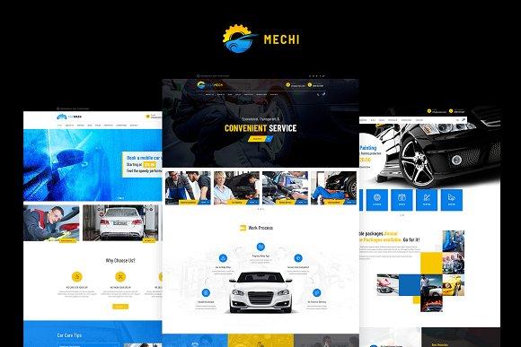 Mechi Car Mechanic WP Theme