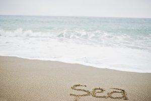"inscription ""sea"""
