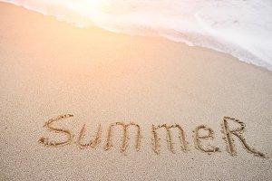 """inscription """"summer"""""""
