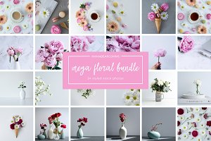 Mega Floral Bundle | Styled Photos