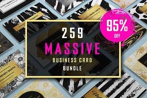 259 Massive Business Card Bundle