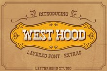 West Hood - 6 FONTS! 50%OFF